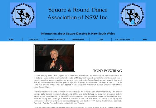"Web site for ""Tony and Christine Bowring"""