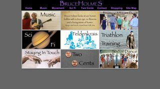 "Web site for ""Bruce Holmes"""