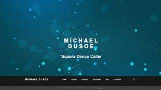 "Web site for ""Michael Dusoe"""