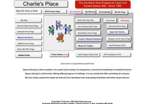 "Web site for ""Charlie Trapp"""
