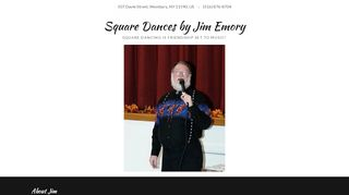 "Web site for ""Jim Emory"""