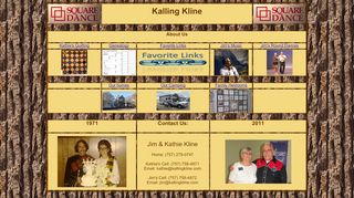 "Web site for ""Jim and Kathie Kline"""