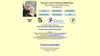 "Web site for ""Richard and Frances Matthews"""
