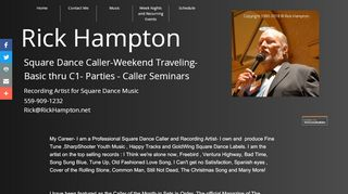 "Web site for ""Rick Hampton"""