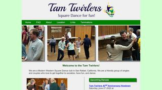 "Web site for ""Tam Twirlers"""