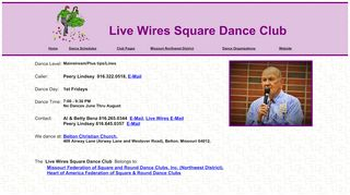 "Web site for ""Live Wires"""