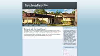 "Web site for ""Stuart Bunch Inc"""