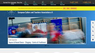 "Web site for ""European Callers and Teachers Association e.V. (ECTA)"""