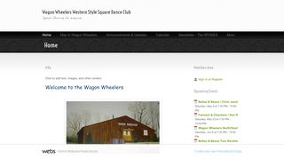 "Web site for ""Wagon Wheelers"""