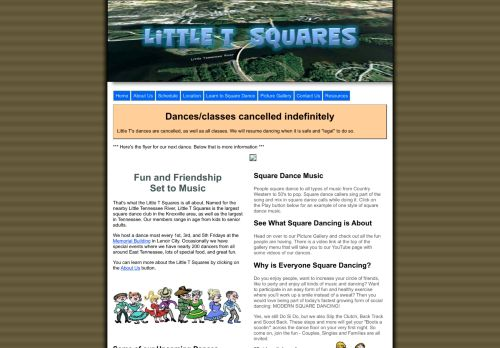 "Web site for ""Little T Squares"""
