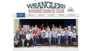 "Web site for ""The Wranglers"""