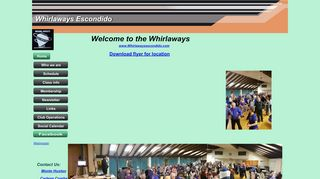 "Web site for ""Whirlaways"""