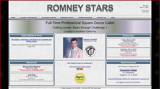 "Web site for ""Romney's Stars"""