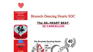 "Web site for ""Brussels Dancing Hearts"""