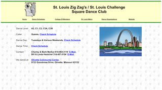 "Web site for ""Zig Zags"""