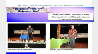 "Web site for ""Westonka Whirlers"""