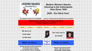 "Web site for ""Laughing Squares"""