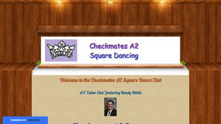"Web site for ""Checkmates A2 club"""