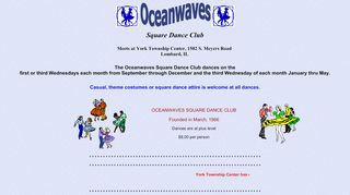 "Web site for ""Oceanwaves"""
