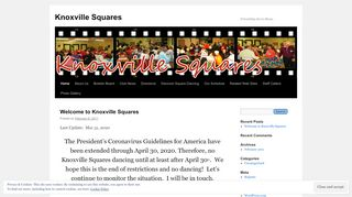 "Web site for ""Knoxville Squares"""
