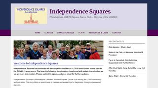 "Web site for ""Independence Squares"""