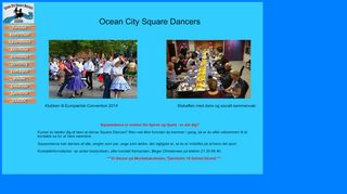 "Web site for ""Ocean City Square Dancers"""
