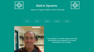 "Web site for ""Matrix Squares"""