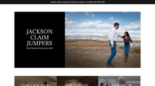 "Web site for ""Jackson Claim Jumpers"""