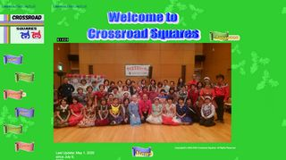 "Web site for ""Crossroad Squares"""