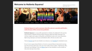 "Web site for ""Hotlanta Squares"""