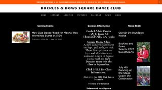 "Web site for ""Buckles & Bows"""