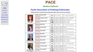 "Web site for ""PACE Northern California"""