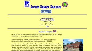 "Web site for ""Lerum Square Dancers"""