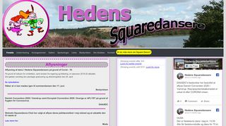 "Web site for ""Hedens Squaredansere"""