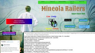 "Web site for ""Mineola Railers"""