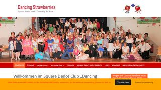 "Web site for ""Dancing Strawberries"""