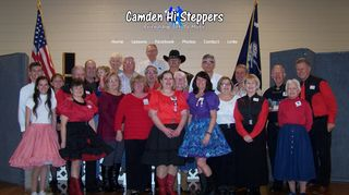 "Web site for ""Camden Hi-Steppers"""