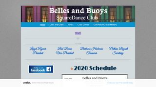 "Web site for ""Belles and Buoys Square Dance Club"""