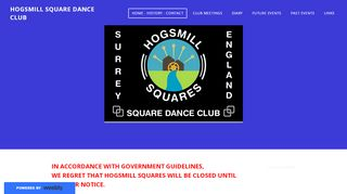 "Web site for ""Hogsmill Squares"""