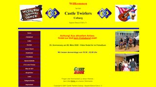 "Web site for ""Castle Twirlers Coburg"""