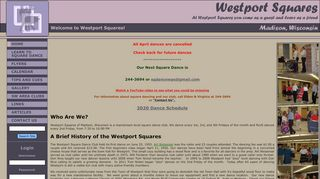 "Web site for ""Westport Squares, Inc."""