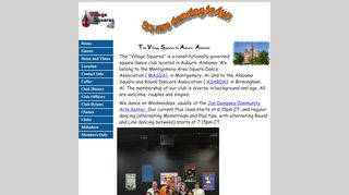 "Web site for ""Village Squares"""