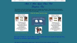 "Web site for ""Shirts'n'Skirts of Georgetown, Texas"""