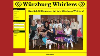 "Web site for ""Wuerzburg Whirlers SDC"""