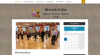 "Web site for ""Roskilde Square & Line Dance Club"""
