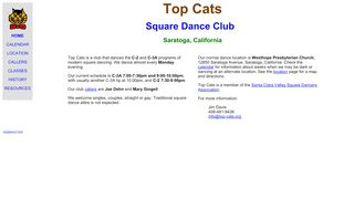 "Web site for ""Top Cats"""
