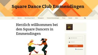 "Web site for ""Square Dance Club Emmendingen"""