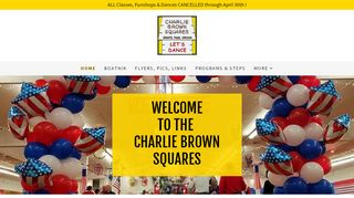 "Web site for ""Charlie Brown Squares"""