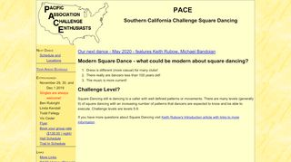 "Web site for ""PACE Southern California"""