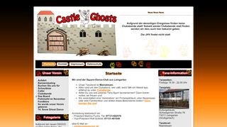 "Web site for ""Castle Ghosts SDC"""